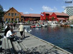 Fiskebrygga, Kristiansand, Norway. One of my favorite places to go when I'm visiting.