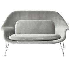 Eero Saarinen Womb Settee for Knoll