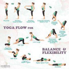 32 Ideas for yoga poses for flexibility hamstrings - Yoga Fitness, Fitness Video, Wellness Fitness, Chakra Yoga, Kundalini Yoga, Vinyasa Yoga, Yoga Challenge, Yoga Inspiration, Basic Yoga For Beginners