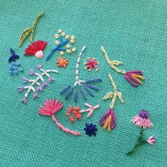 If you follow me on Instagram, you have noticed that over the course of the past few months I have begun sharing many photos of my hand embroidery work. As I ex