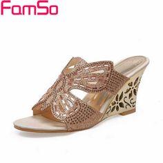 $36.89 (Buy here: https://alitems.com/g/1e8d114494ebda23ff8b16525dc3e8/?i=5&ulp=https%3A%2F%2Fwww.aliexpress.com%2Fitem%2FPlus-Size34-44-2016-Wedges-Sandals-Fashion-Rhinestone-Sandals-Sexy-Patch-Slides-Causal-Women-Flip-flops%2F32624945142.html ) Plus Size34-44 2016 Wedges Sandals Fashion Rhinestone Sandals Sexy Patch Slides Causal Women Flip-flops Women Shoes Pumps PS1941 for just $36.89