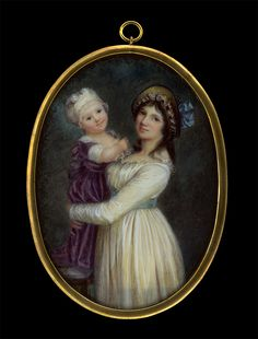 Uknown artist after Prud´hon, Madame Georges Anthony with Her Son Joseph, after 1796