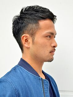 Teen Boy Hairstyles, Funky Hairstyles, Haircuts For Men, Formal Hairstyles, Long Curly Hair, Curly Hair Styles, High And Tight Haircut, Asian Men Hairstyle, Long Black Hair