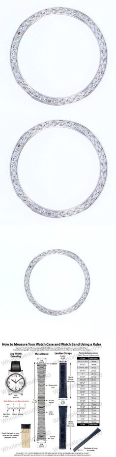 Bezels and Inserts 57714: Created Diamond Bezel For 34Mm Rolex Tudor Oyster Perpetual Date 15200 15210 Whi -> BUY IT NOW ONLY: $55.9 on eBay!