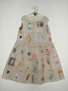 Teabag dress by Jennifer Collier