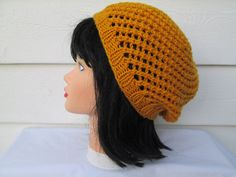 Ready to ship Very cute beanie Great accessory for any time of the year, beautiful and elegant This hat will fit most teens and adults  Its hand