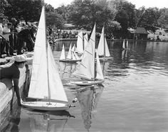 Central Park, Model Boat Regatta, 1962, by 20x200 Artist Fund | 20x200