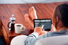 All at your finger tips. Audio control via your ipad over a nice cup of coffee! For audio integration in your home contact West London AV Solutions on 0203 819 7000.