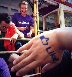 High Tech RoadShow: Mark Zuckerberg Appears in San Francisco's Gay Pride Parade