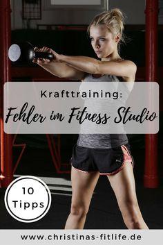 Vermeidet diese typischen Fehler im Fitnessstudio!