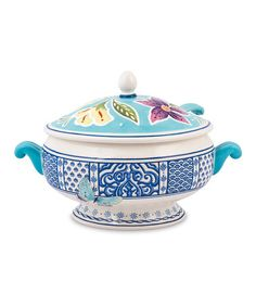 Another great find on #zulily! Courtyard Tureen & Ladle #zulilyfinds