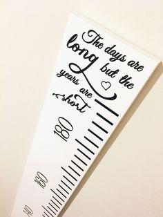 DIY Growth Chart Ruler Silhouette Cameo Cut File