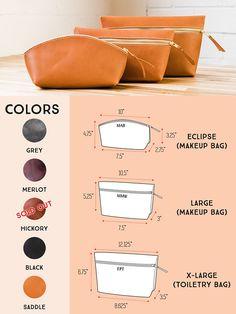 Huge SALE 50% OFF... Makeup Bag Bridesmaids Gift Leather Bag