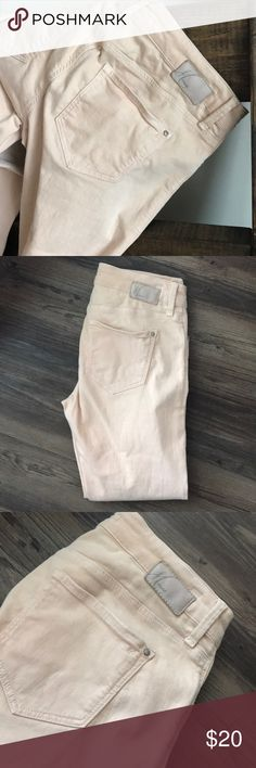 Mavi light pink jeans 97.5% cotton! These are so cute and comfy on! Style 722 Alexa Ankle Mavi Jeans Skinny