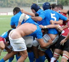 Rugby: cheeky!