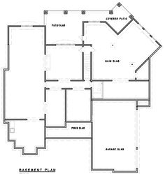 One-of-a-Kind Facade - 15604GE floor plan - Lower Level