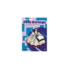 Alfred 00-14760X Folk Strings for String Quartet or String Orchestra - Music Book, As Shown