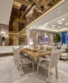 6 Awesome Cool Tips: False Ceiling Design Cabinets false ceiling living room ideas.False Ceiling Living Room Latest false ceiling with fan dining rooms. Modern Dining, Modern Dining Table, Dining Room Interiors, Luxury Dining Room Decor, Modern Interior Design, Dining Room Design Luxury, Home Interior Design, Ceiling Design Living Room, Luxury Dining Tables