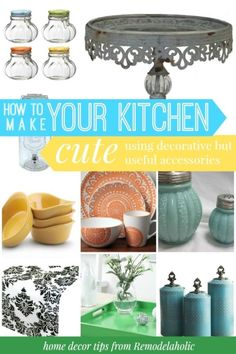 Make my kitchen cute! Love that tray #spon