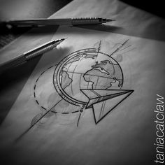 #aroundtheworld #iblackwork #sketch #sketching #ink