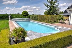 Outdoor swimming pool by VSB Wellness Outdoor Swimming Pool, Swimming Pools, Wellness, Outdoor Decor, Outdoor Pool, Swiming Pool, Pools