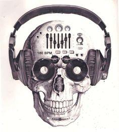 Deejay skull