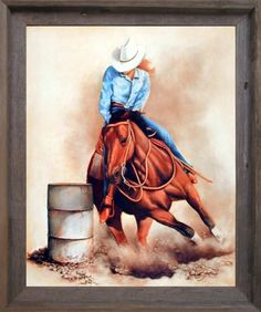 barrel racing horse cross stitch pattern l k