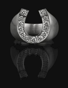 Entrance to Heaven, Horseshoe Ring, White Gold #entrancetoheaven #etoh  #ring #horseshoe #whitegold #accessoires #jewellery #diamonds #details #statement  #itpiece #musthave #fashion http://www.entrance-to-heaven.com/#products/horseshoeWG