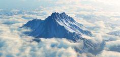 El Monte Olimpo es la montaña más alta de Grecia. Inaccesible para los caminantes, para la mitología griega clásica este monte era la morada de los dioses, que habitaban en mansiones de cristal.