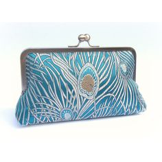 Peacock clutch bag, teal bridal clutch, great gatsby clutch, teal... (3.645 RUB) ❤ liked on Polyvore featuring bags, handbags, clutches, bridal purse, evening purses clutches, evening handbags clutches, evening hand bags and turquoise purse