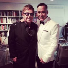 Pin for Later: 17 Power Couples Who Are Slaying (or Will Soon Slay) Same-Sex Marriage Elton John and David Furnish: Married