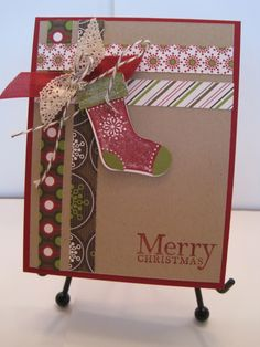 stampin up stocking punch ideas