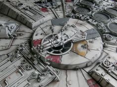 DeAgostini Part Work 'Build The Millennium Falcon' Work In Progress Log Page 21