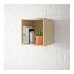 IKEA - TUTEMO, Szafka otwarta, antracyt, 40x37x40 cm, , Szafkę możesz zamontować, jako półkę końcową z boku szafki wiszącej lub stojącej, albo pomiędzy nimi tworząc praktyczne otwarte miejsce do przechowywania.Bezpłatna gwarancja 10 lat. Warunki gwarancji znajdziesz w broszurze.