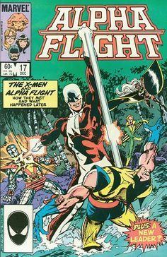 Alpha Flight # 17 by John Byrne