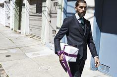 Eton Shirts, Suit, tie, Sartorial, Menswear, Beard, - http://www.etonshirts.com/uk/san-francisco-bloggers