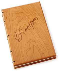 I would actually use this! So cute! Heirloom Recipe Journal #recipes #book #journal