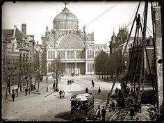Paleis van volksvlijt Amsterdam