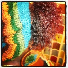 Fall N Love Crochet Hat and Earring Set (Natural) on Etsy, $35.00