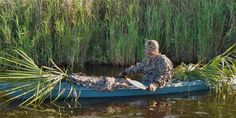 The Assault Hand Paddle working a kayak duck hunt in Central Florida.