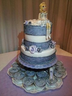 The Birthday Wedding Cake  Cake by possum