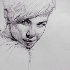 beautiful pencil drawings from Malaysian artist Alvin Chong, #illustration