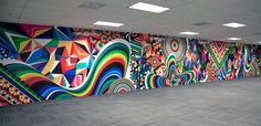 MWM NEWS BLOG: Super-Sized Pop-Art Op-Art.