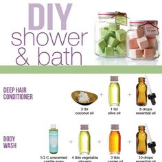 DIY shower and bath Homemade Shower Gel, Diy Shower, Diy Shampoo, Homemade Shampoo, Diy Spa, Best Body Wash, Bath And Shower Products, Home Remedies For Pimples, Coconut Oil For Acne