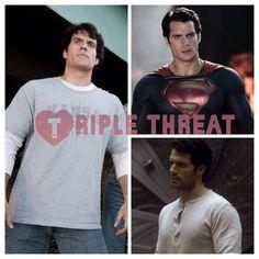 Clark, Kal, Superman = #TripleThreat. Keep up w/the latest on #HenryCavill & #BatmanvSuperman henrycavillnews.com