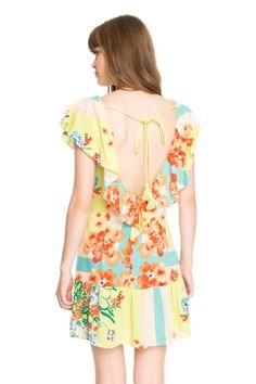 vestido est lenço trinidad amarração - Vestidos   Dress to