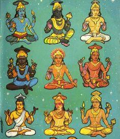 Lords of Nine Planets - Hindu Mythology