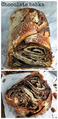 The BEST Chocolate Babka! With step by step photos to help you along the way! Köstliche Desserts, Delicious Desserts, Dessert Recipes, Yummy Food, Chocolate Babka, Best Chocolate, Chocolate Photos, Chocolate Recipes, Chocolate Chocolate