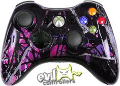 Midnight Xbox 360 Controller