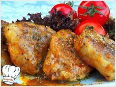 ΨΑΡΟΝΕΦΡΙ ΣΤΟ ΤΗΓΑΝΙ ΜΕ ΠΕΤΙΜΕΖΙ!!! | Νόστιμες Συνταγές της Γωγώς Food Decoration, Greek Recipes, Tandoori Chicken, Food And Drink, Pork, Turkey, Pasta, Meat, Ethnic Recipes